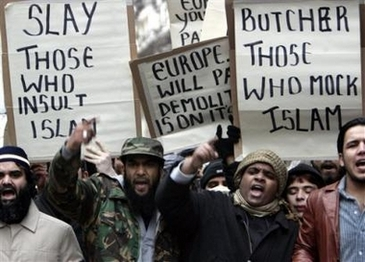 Butcher those who insult islam